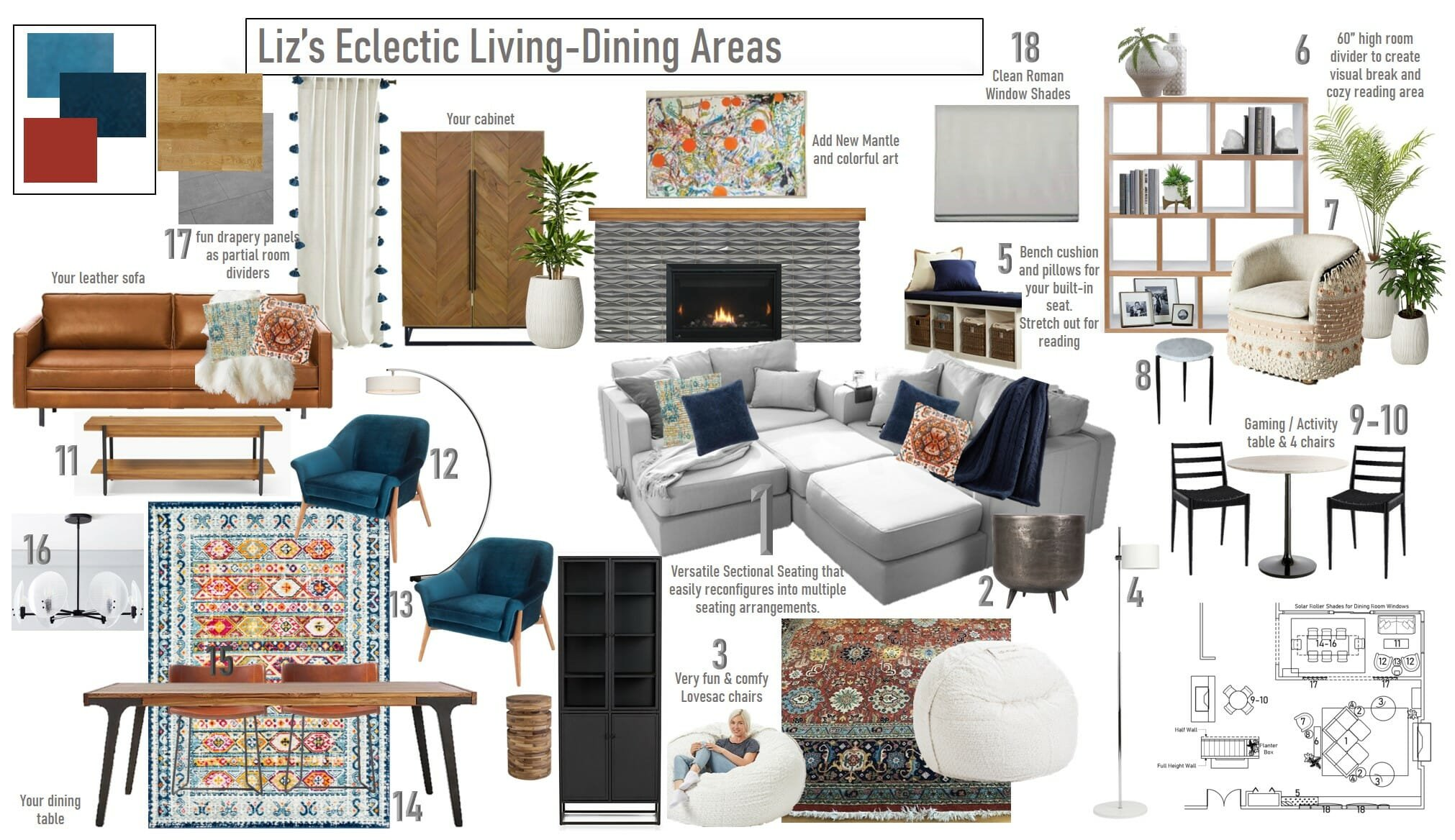 Eclectic-dining-room-and-living-room-mood-board