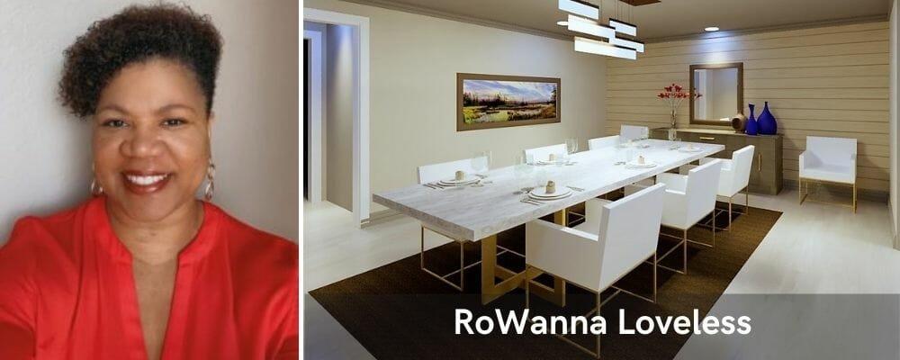 One of the most popular San Antonio interior designers, Rowanna Loveless