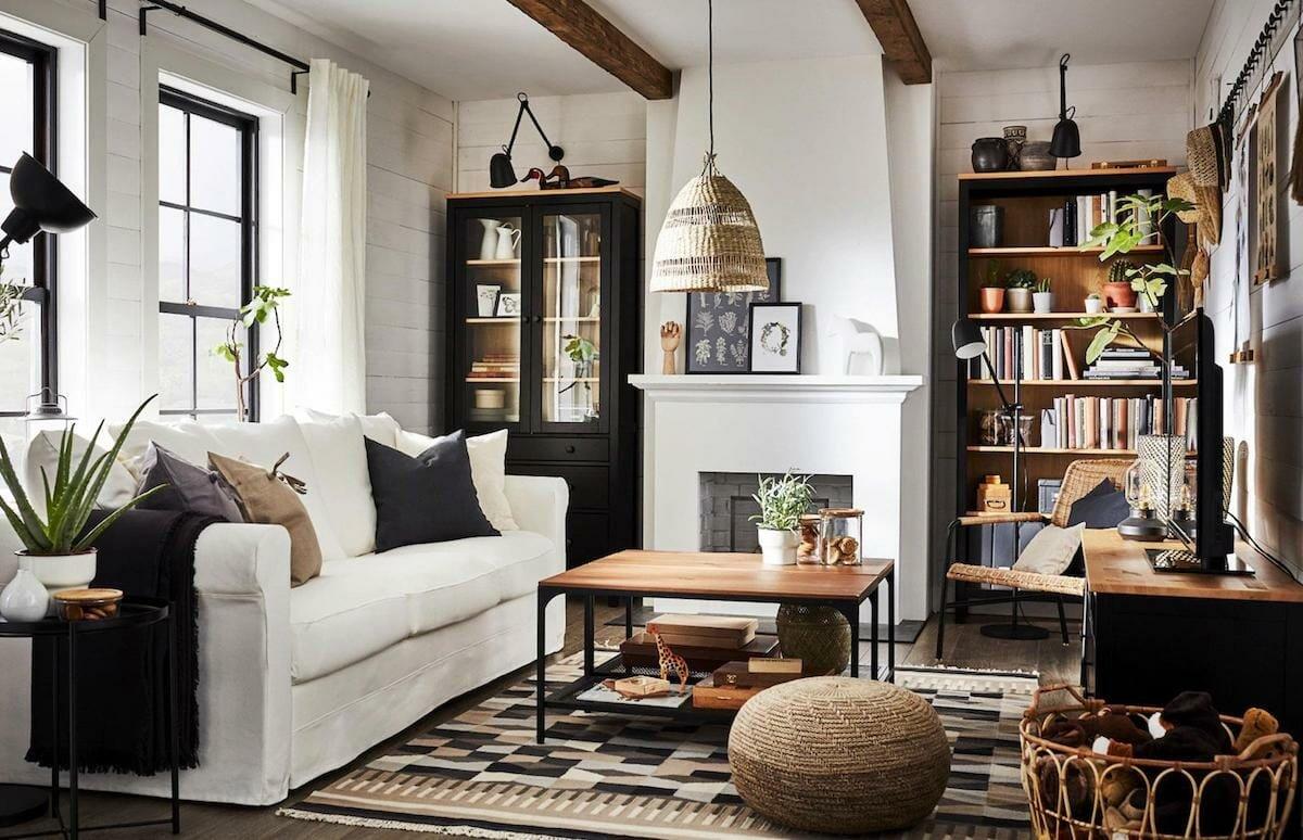 Small apartment decor for a cozy living room