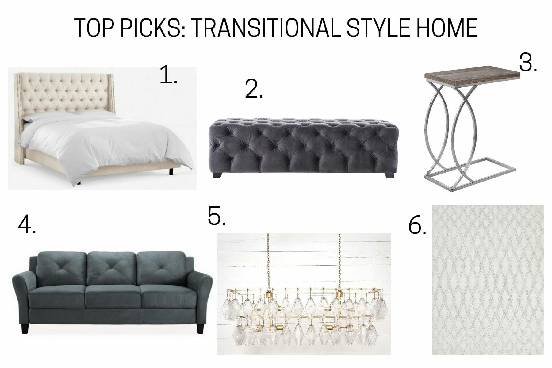 Transitional style home top picks