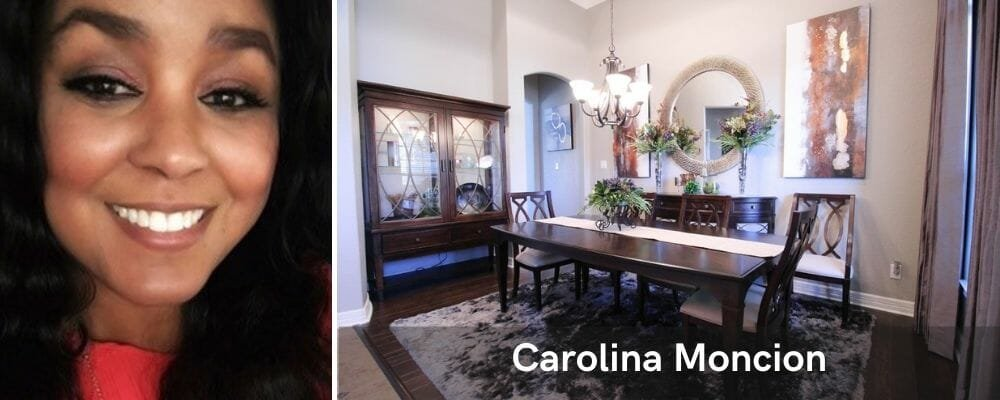 affordable interior designer San Antonio, Carolina Moncion