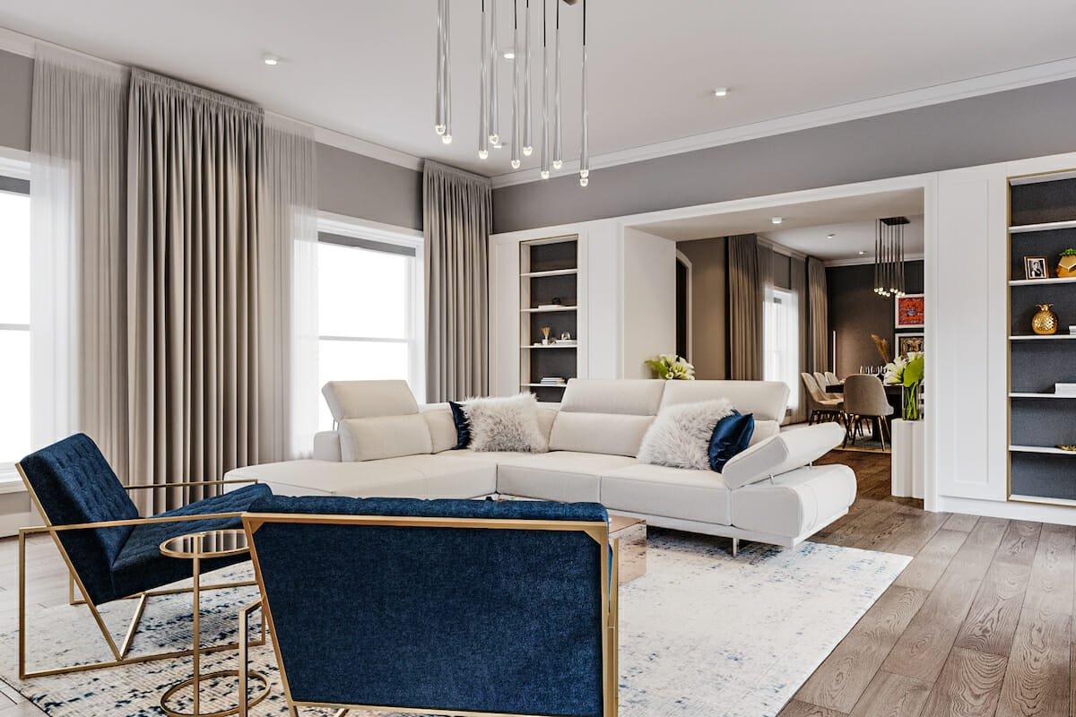 contemporary interior design - living room result