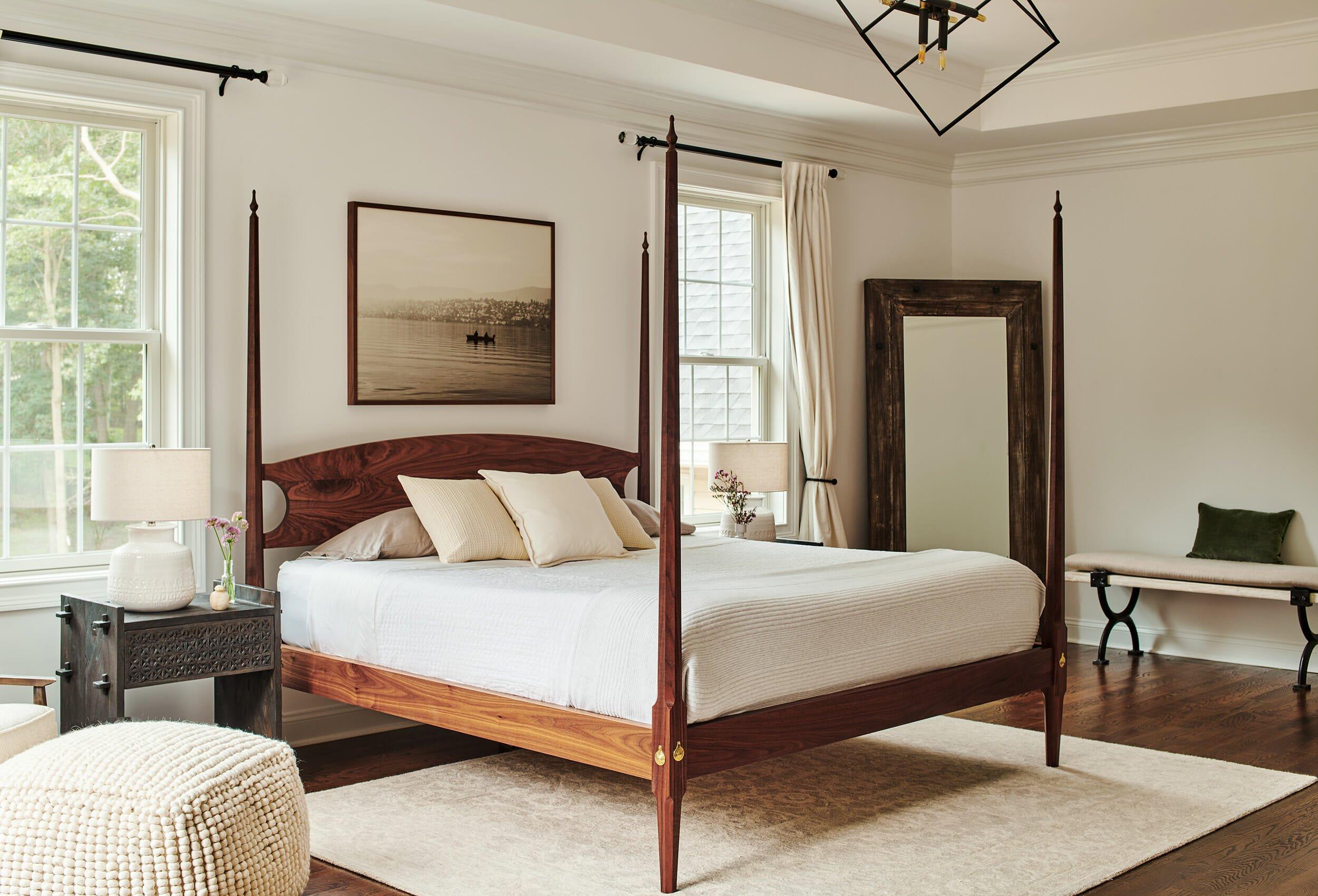lighting for modern farmhouse bedroom decor