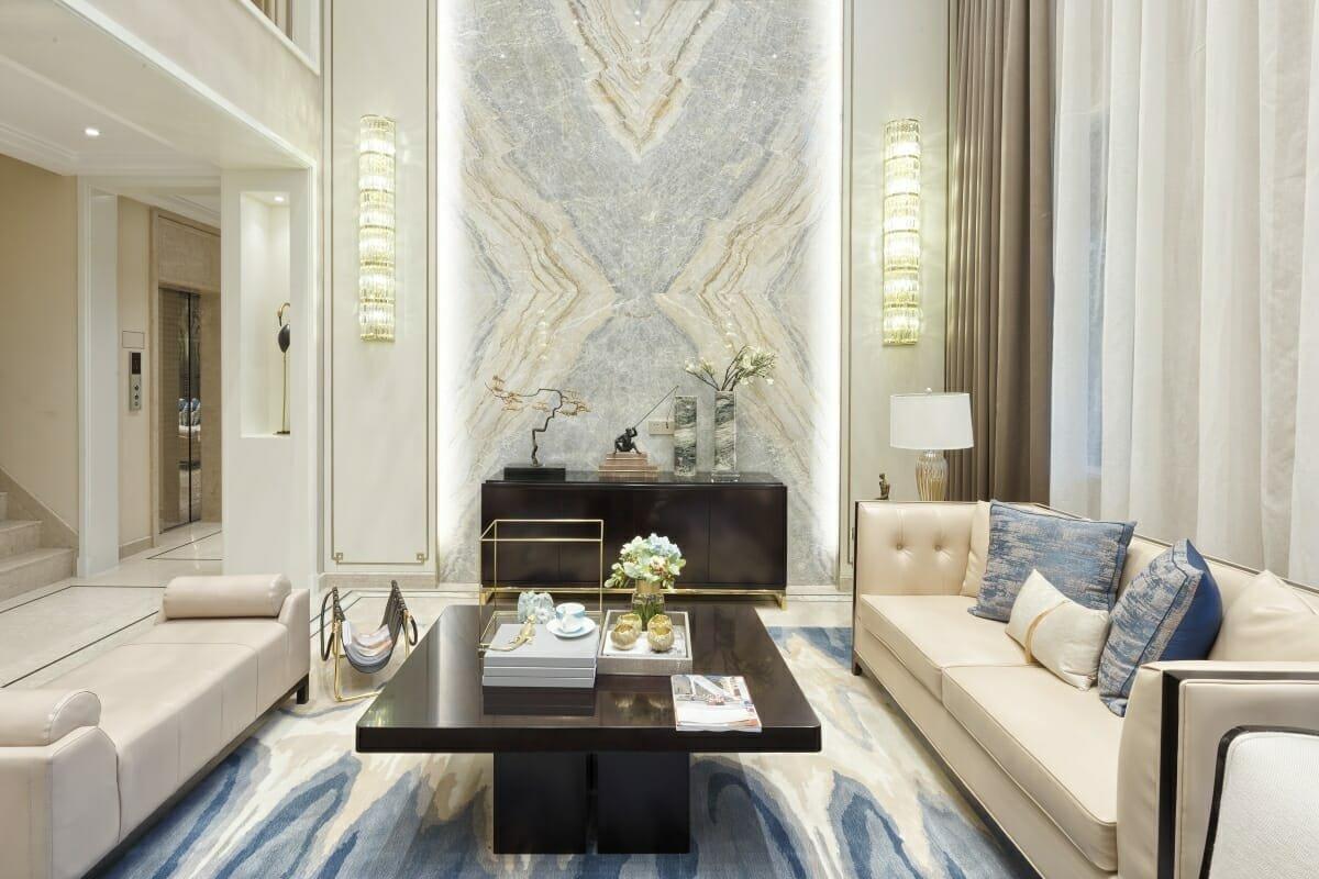 luxury living room by one of the top interior decorators salt lake city amelia rozas