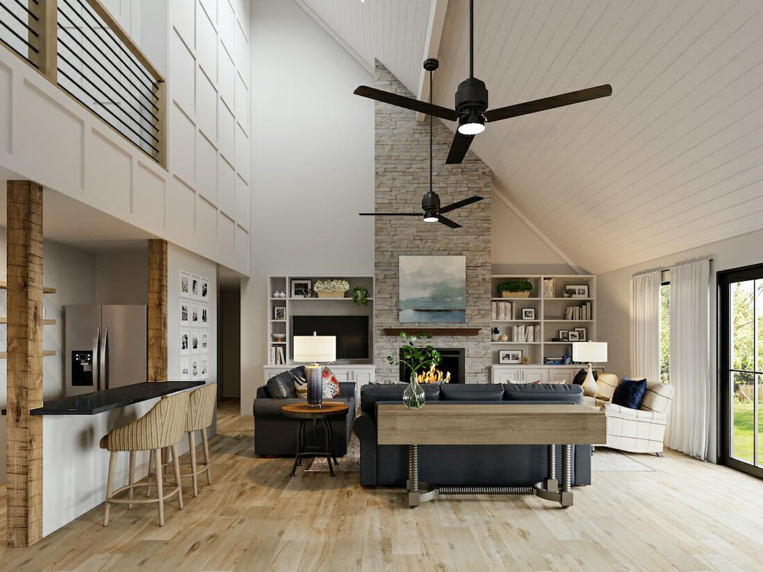 modern-rustic-furniture-in-a-living-room-and-kitchen-design