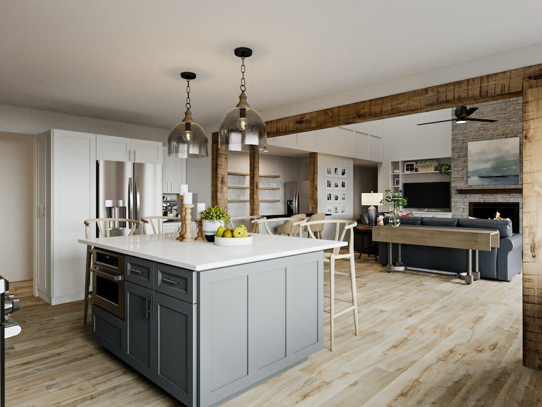 modern-rustic-kitchen-in-an-open-plan-interior