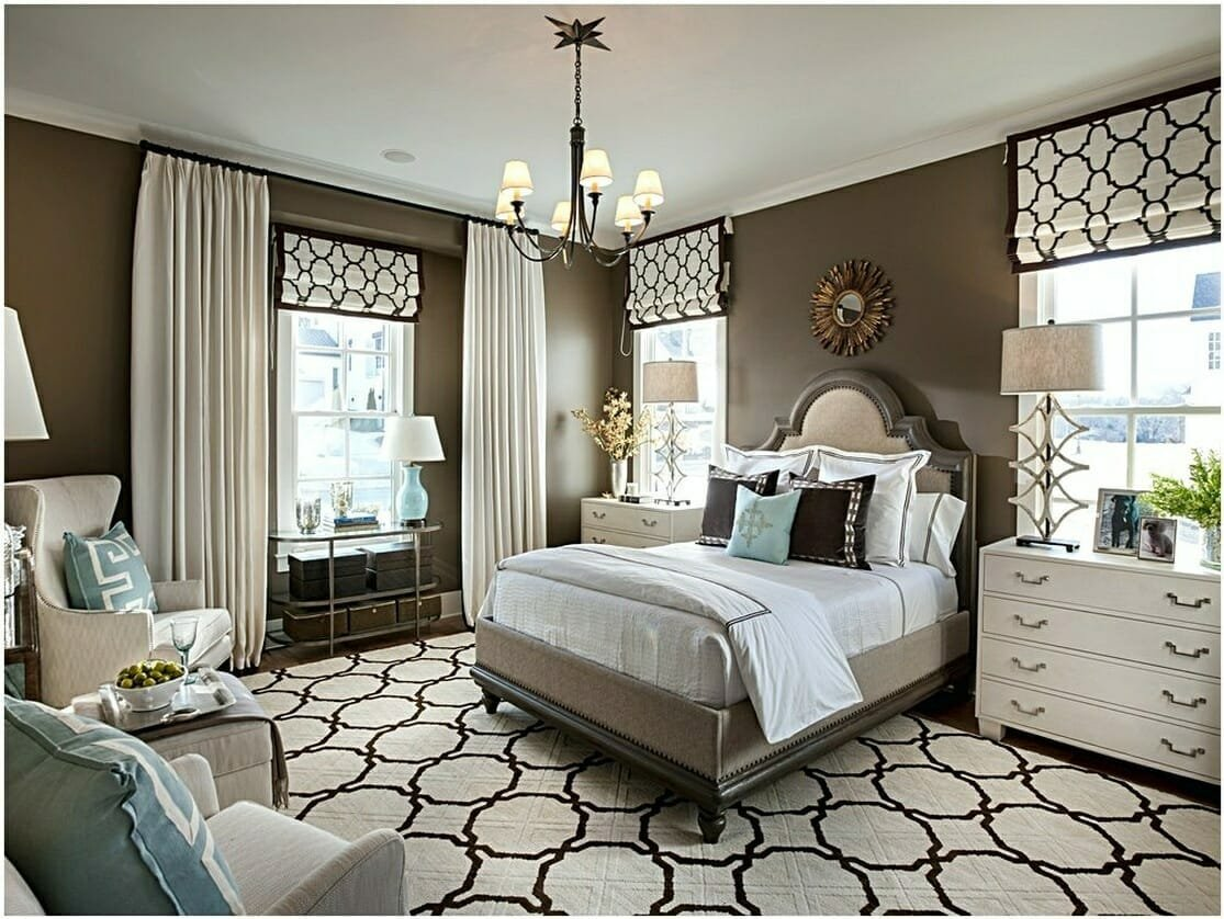 one of the top fresno interior designers geri transitional bedroom design