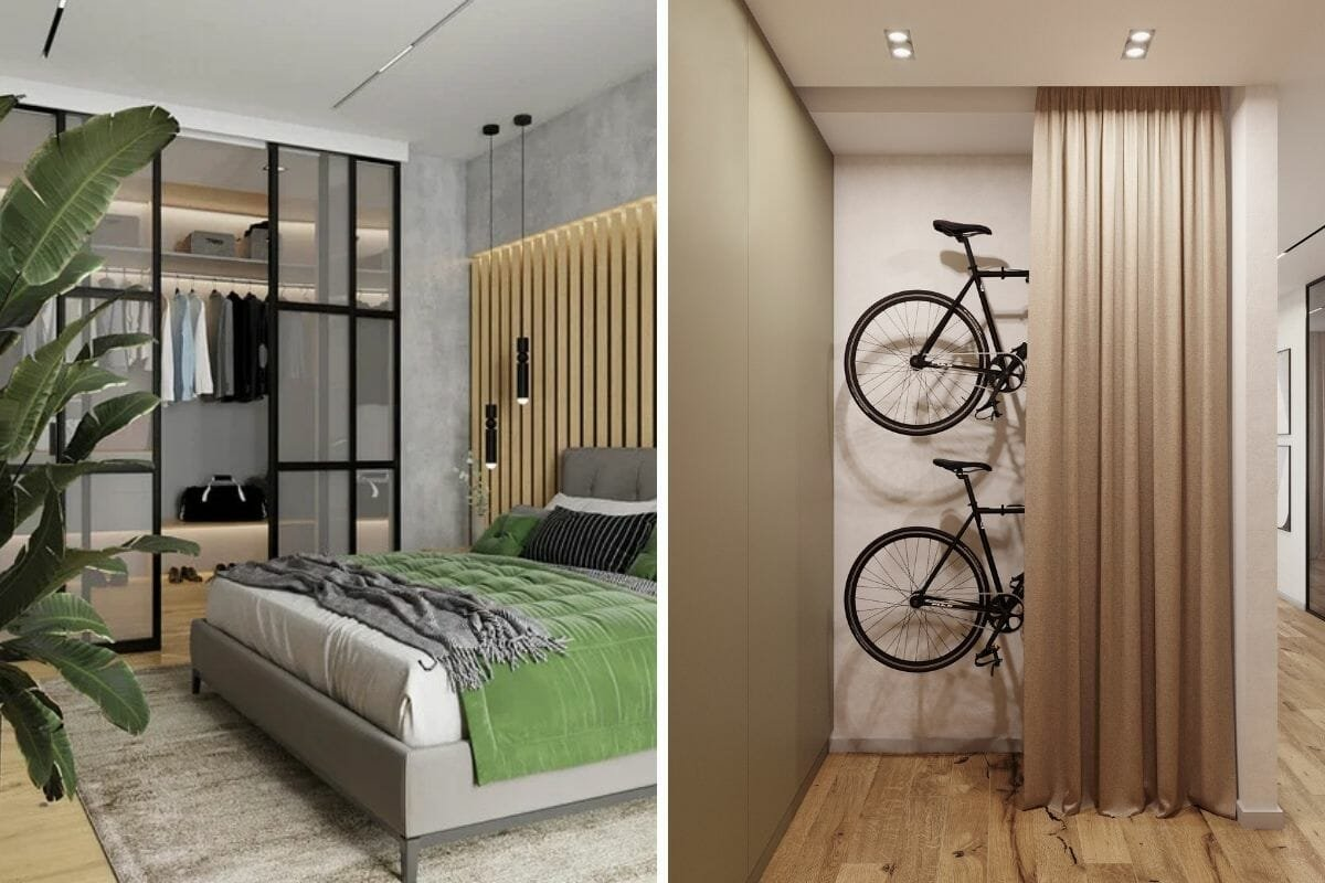 studio apartment decorating ideas with clever storage
