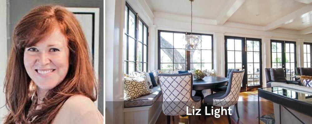 top interior designer San Antonio texas, liz light