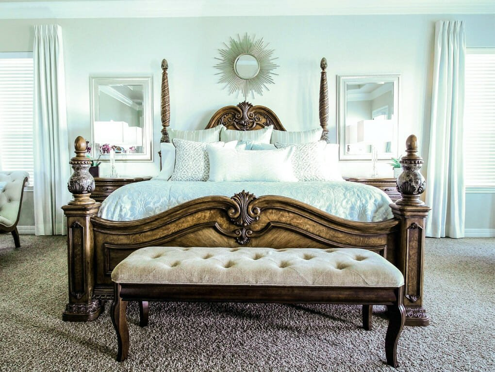 transitional bedroom interior design san antonio by carolina moncion