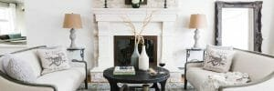 French country living room by online interior designer casey h