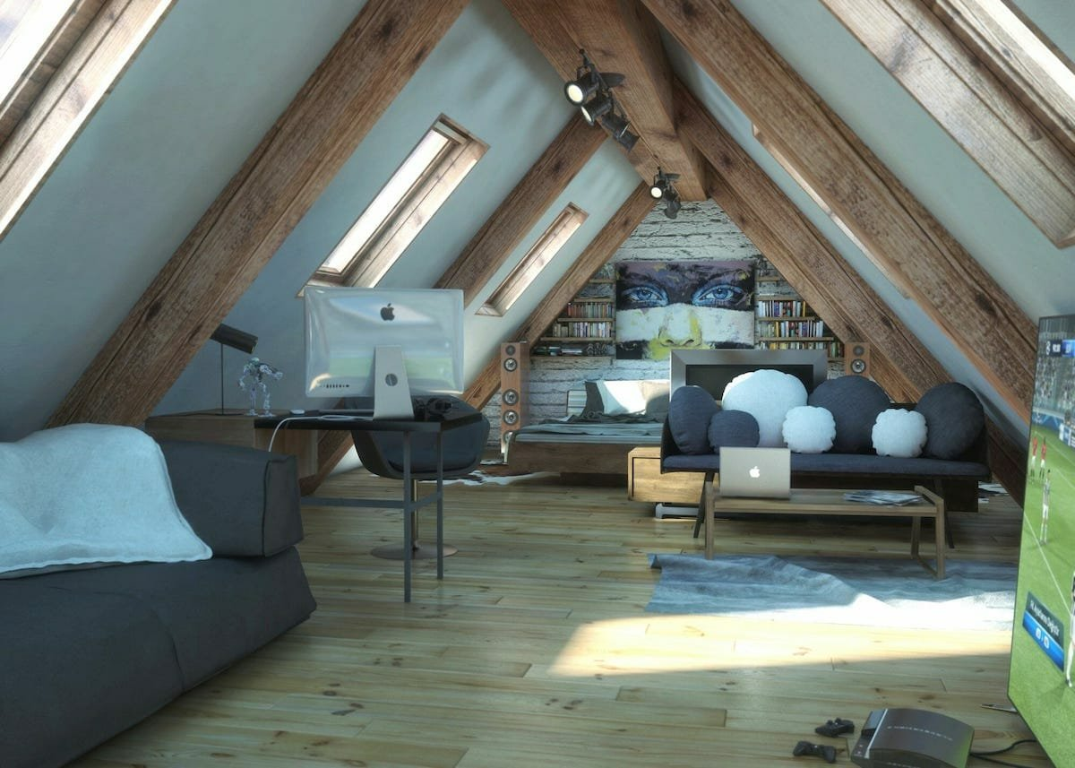 Modern rustic interior by Decorilla designer, Rajna S.