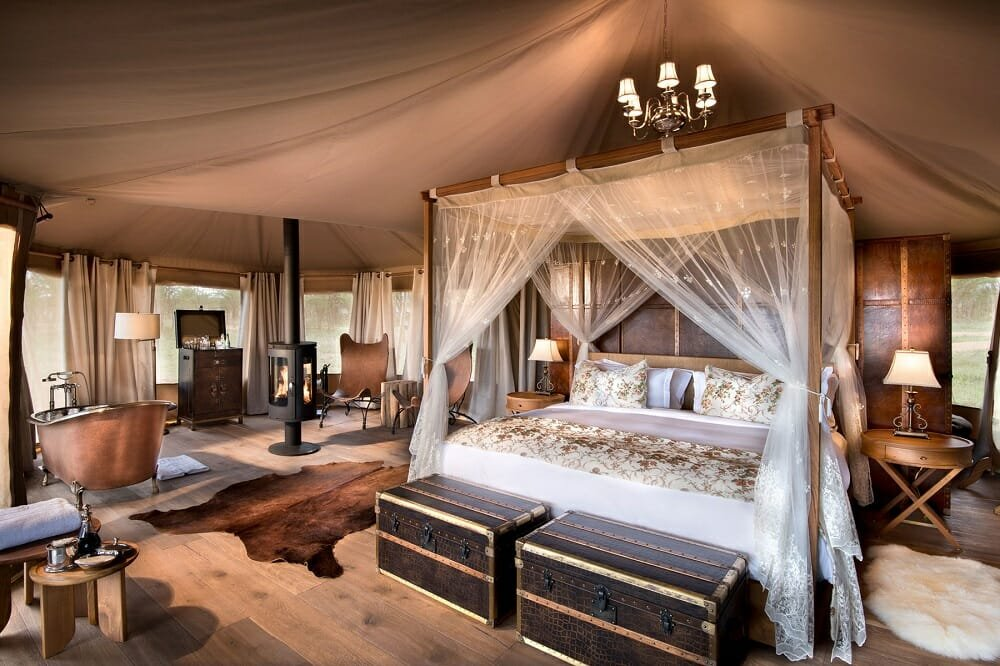 Refined hotel interior design in a rugged setting - Rehan A