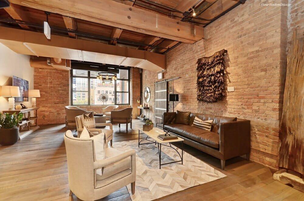 Rustic industrial interior design - Wanda P