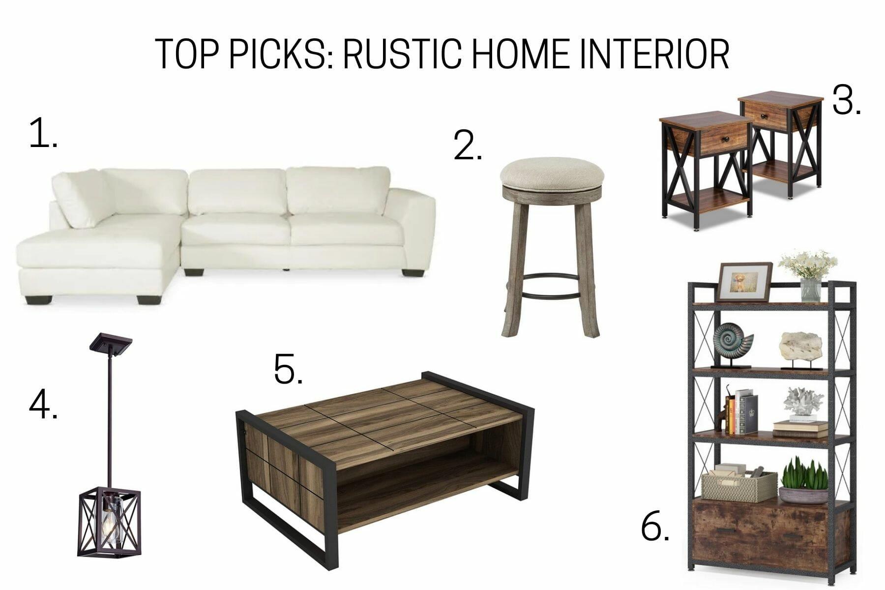 Top picks for rustic home interior design