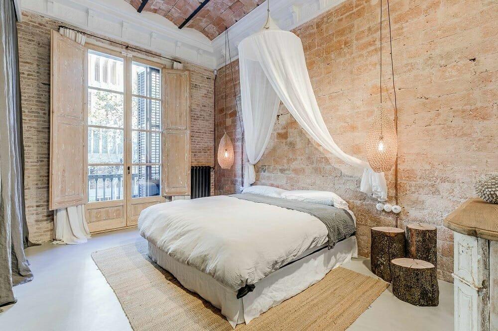 rustic home interior - marta castellano