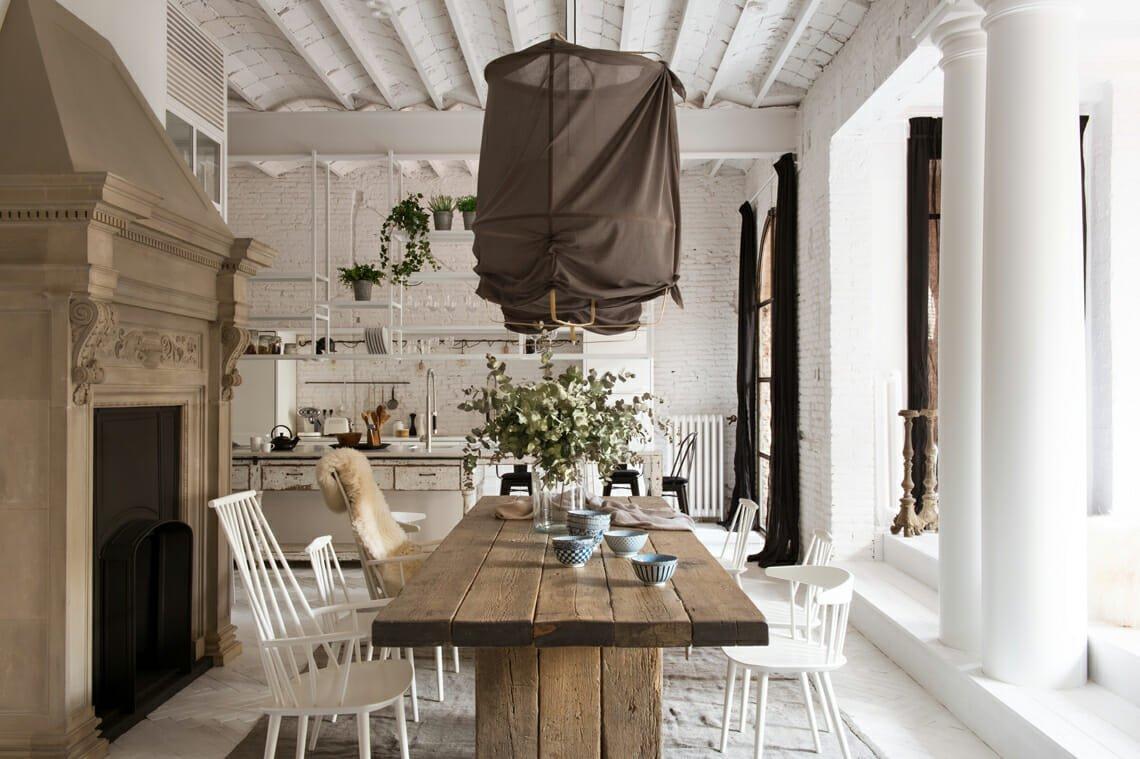 scandi rustic interior design - marta castellano