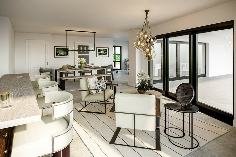 small lounge online interior design