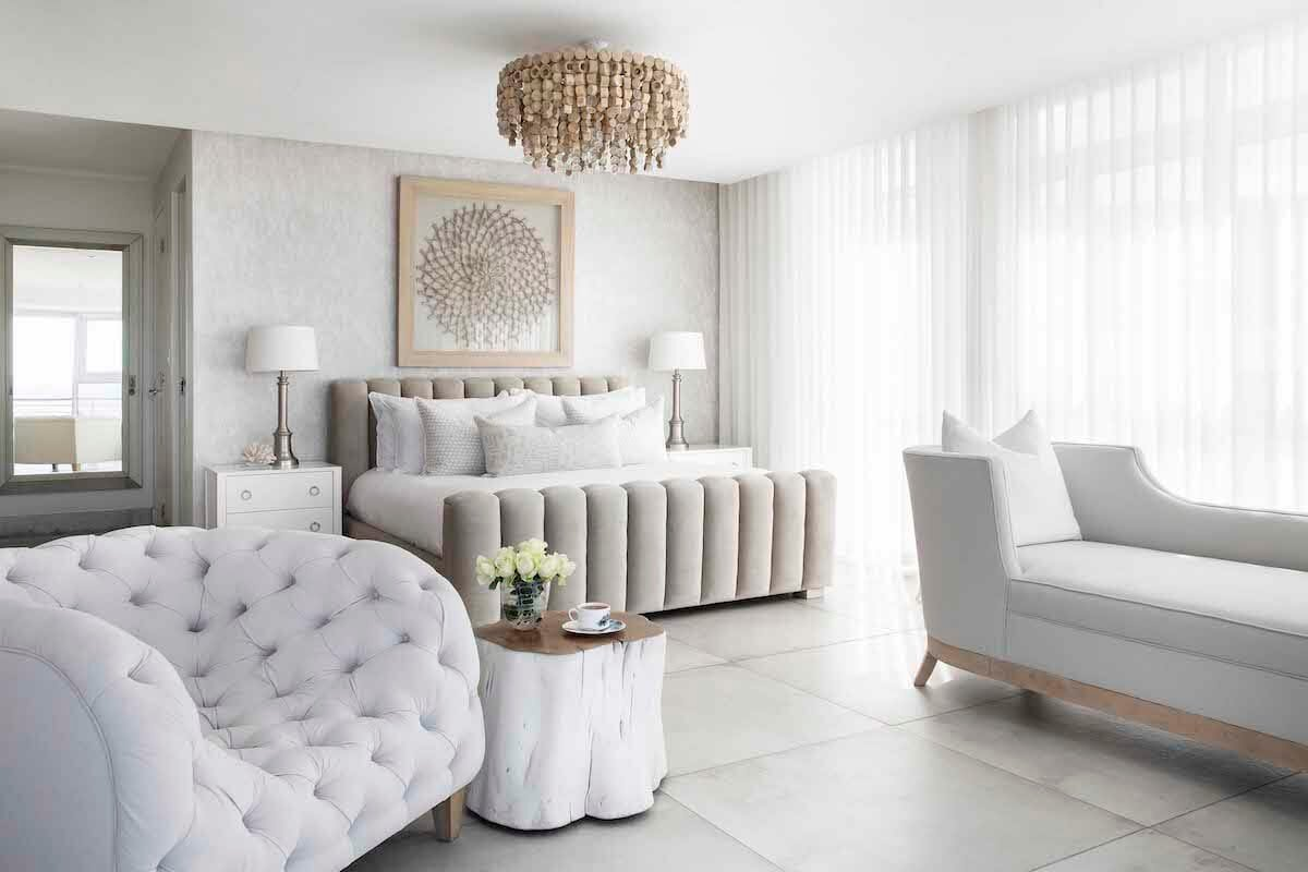 Bright and airy, natural master suite by Decorilla Oklahoma interior designers