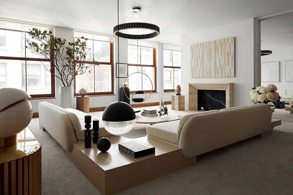Feature interior on one of the best interior decorating websites - Design Milk