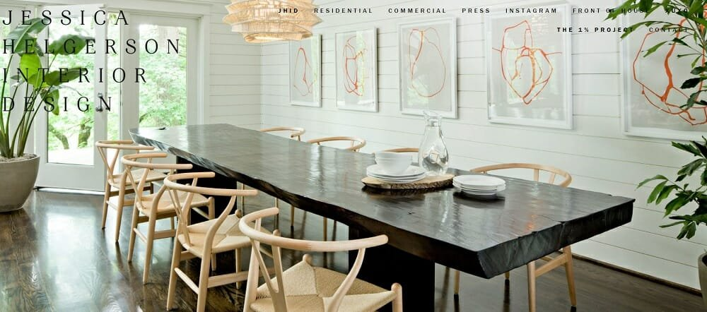 Interior decorating websites - JHID