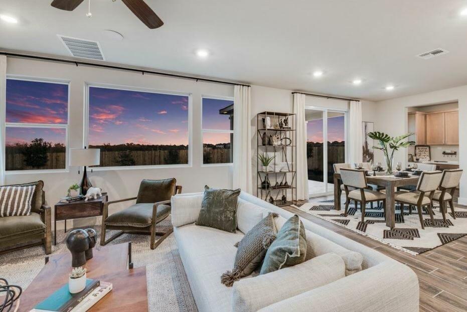 Modern living room by top Colorado Springs interior designer, Cindy Senger