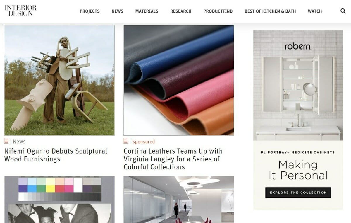 One of the top interior design websites - Interior Design