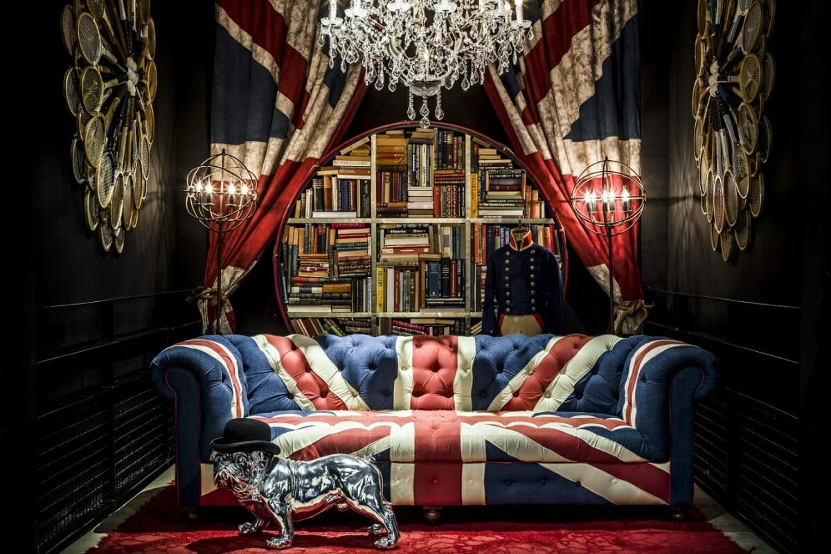 Reading room - man cave basement ideas - Peter Baas