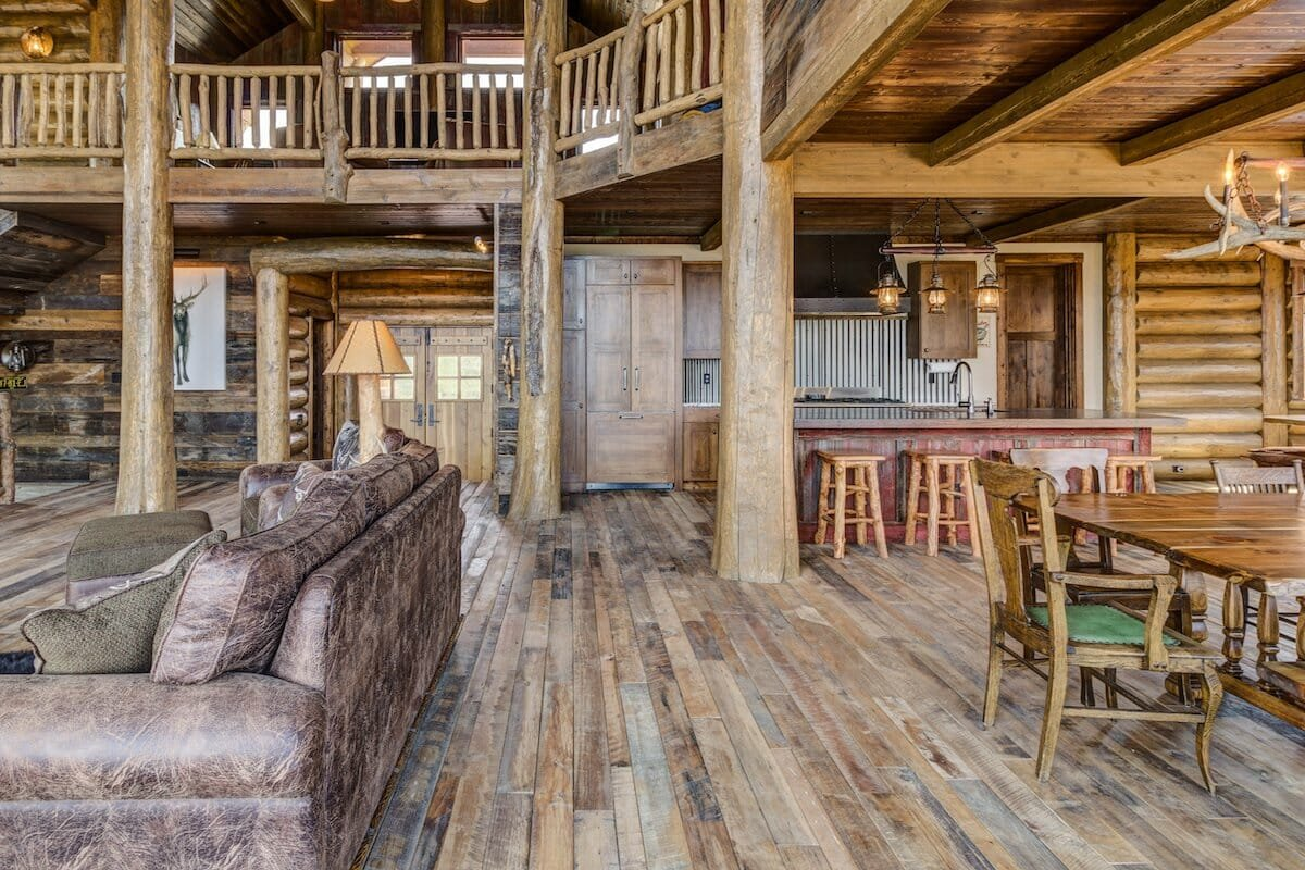 Rustic cabin design by one of the top interior decorators colorado springs