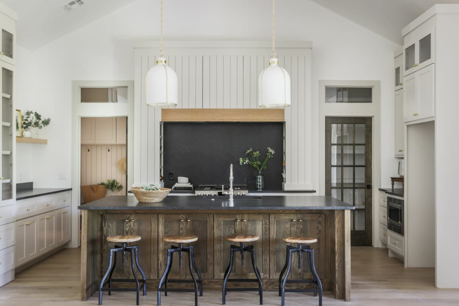 Rustic kitchen interior design, Okc by Kelsey Leigh