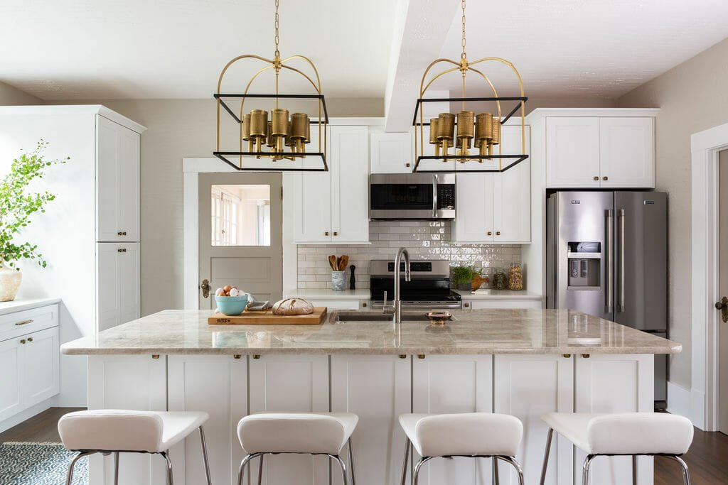 Stylish kitchen remodel by top interior decorator colorado springs - kathryn burgess
