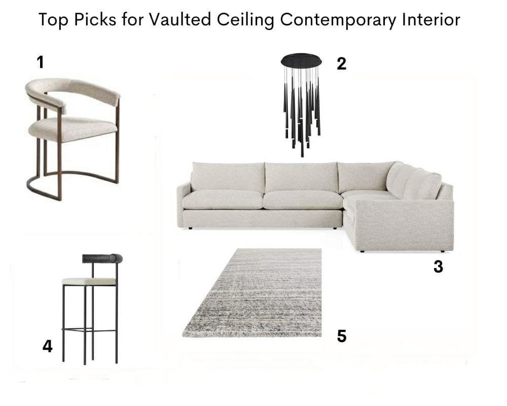 Top picks for vaulted ceiling Contemporary House Interior