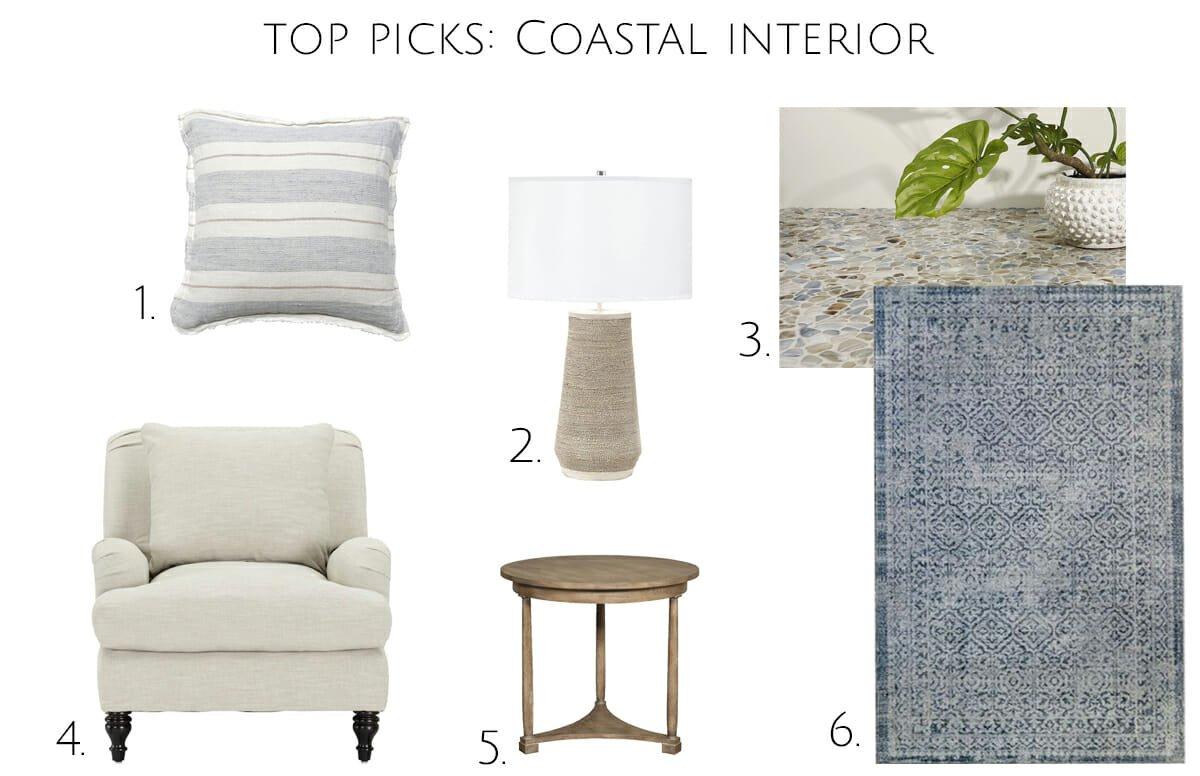 coastal interior design top picks