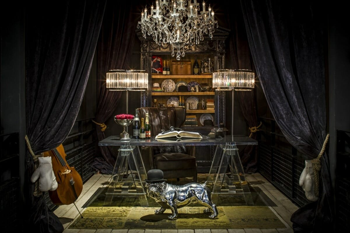 man cave decorating ideas - Peter Baas