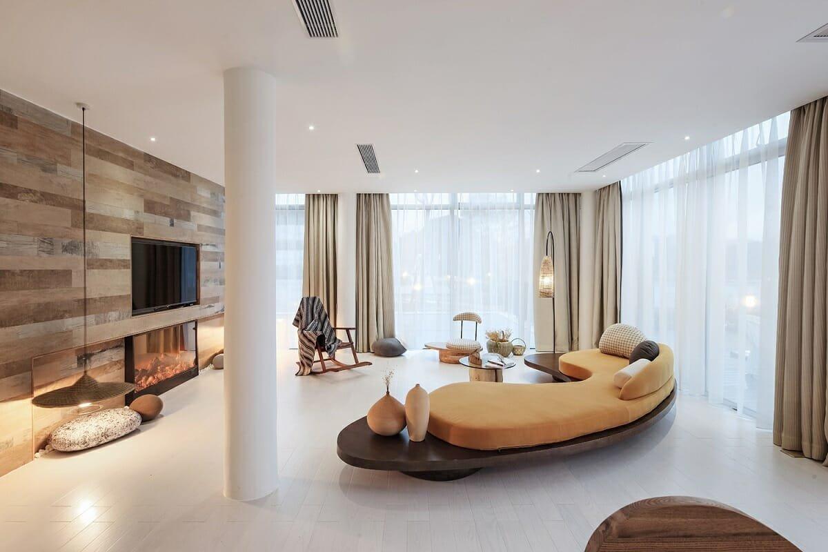 Alternative velvet interior decor trend 2022 - Archdaily