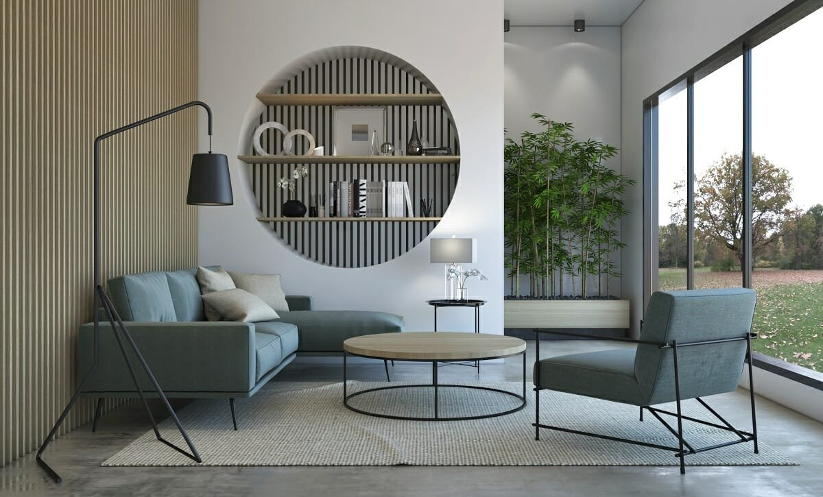 Bamboo plants in interior design - Shofy D
