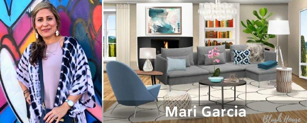 Find an interior designer Mari Garcia