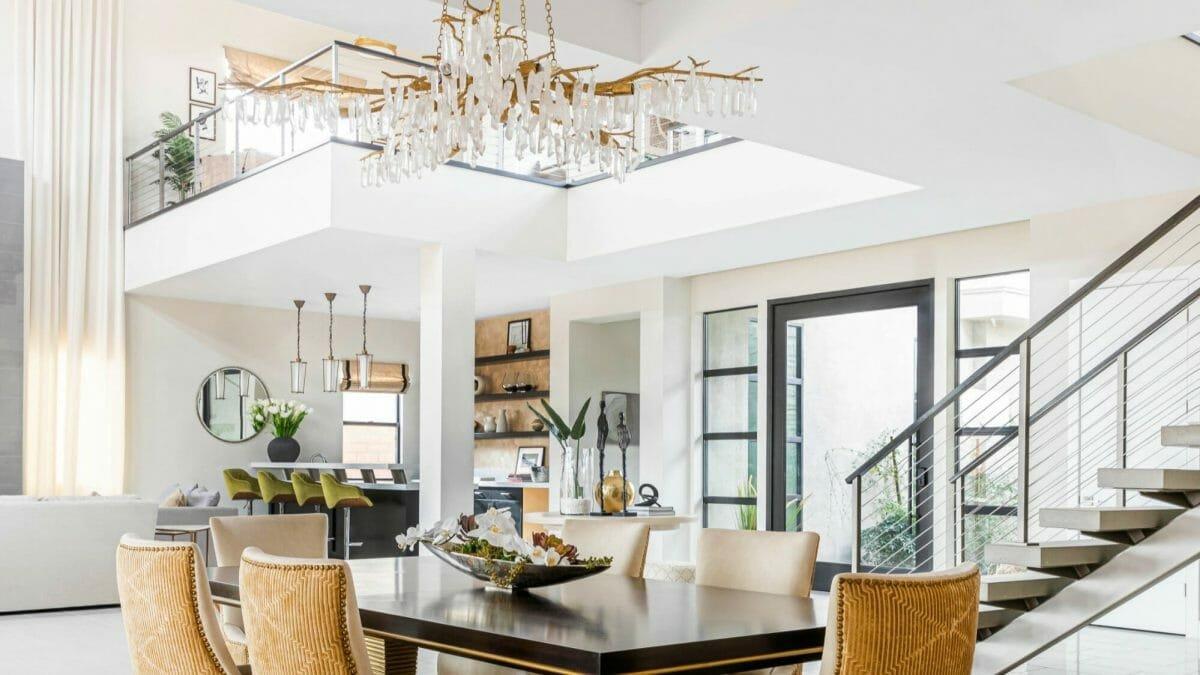 Modern and luxurios living room design by top interior decorator, Las Vegas, Fabiola Avelino