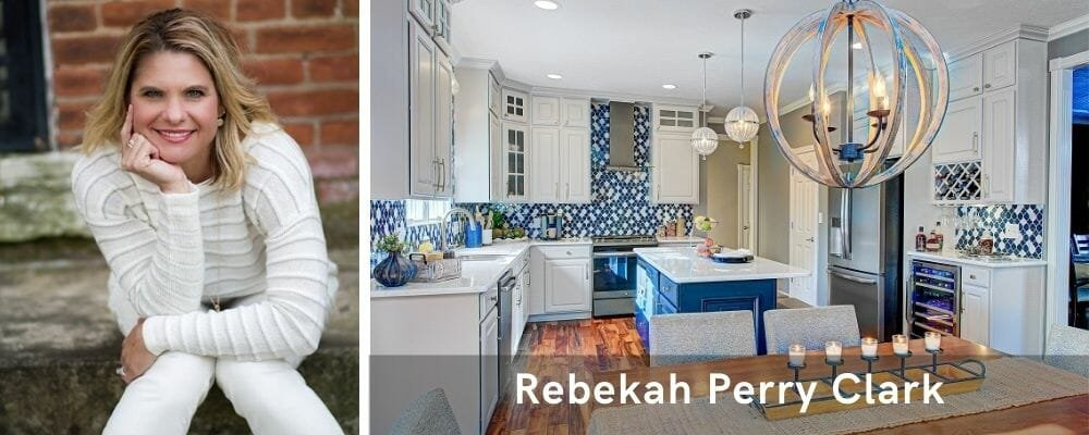 Modern kitchen decor by one of the top interior design firms in Indianapolis, R Perry Clark
