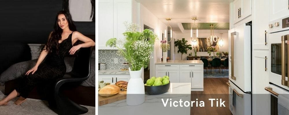 Modern kitchen decor by top interior decorator Las Vegas, Victoria Tik