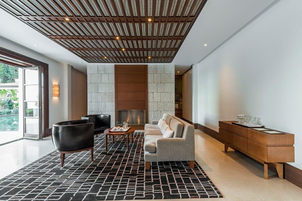 Neutral interior design color trends 2022