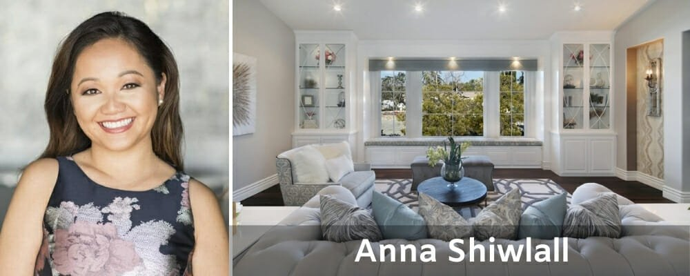 Orange County interior designers Anna Shiwlall
