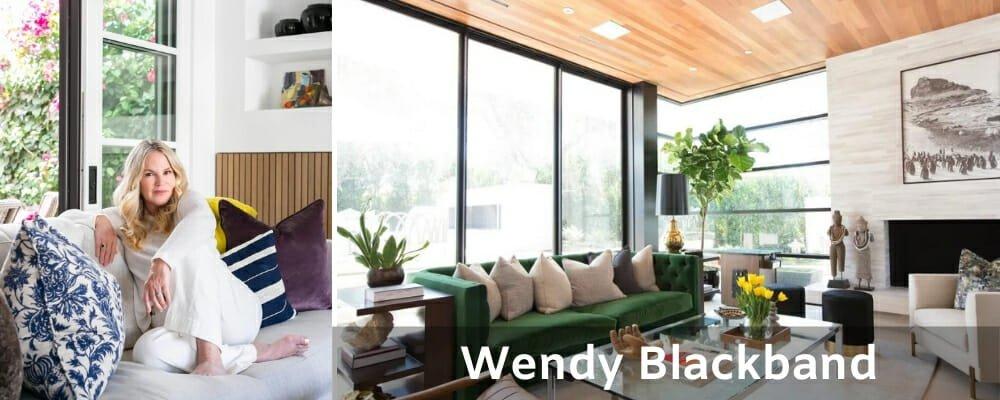 Orange County interior designers Wendy Blackband