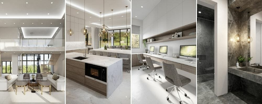luxury home interior design for a whole house