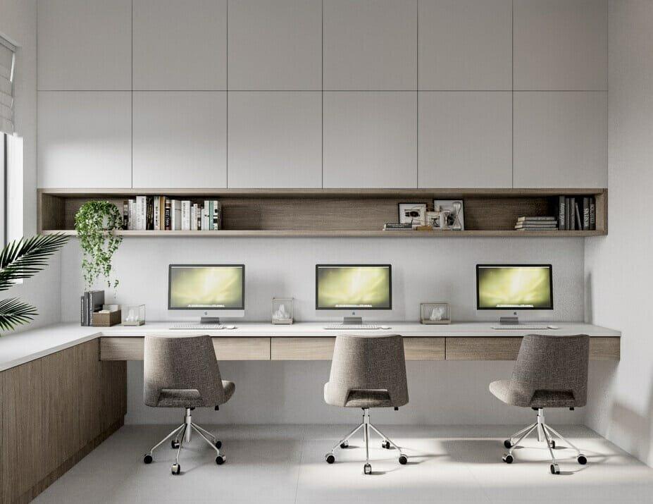 luxury home study interior design