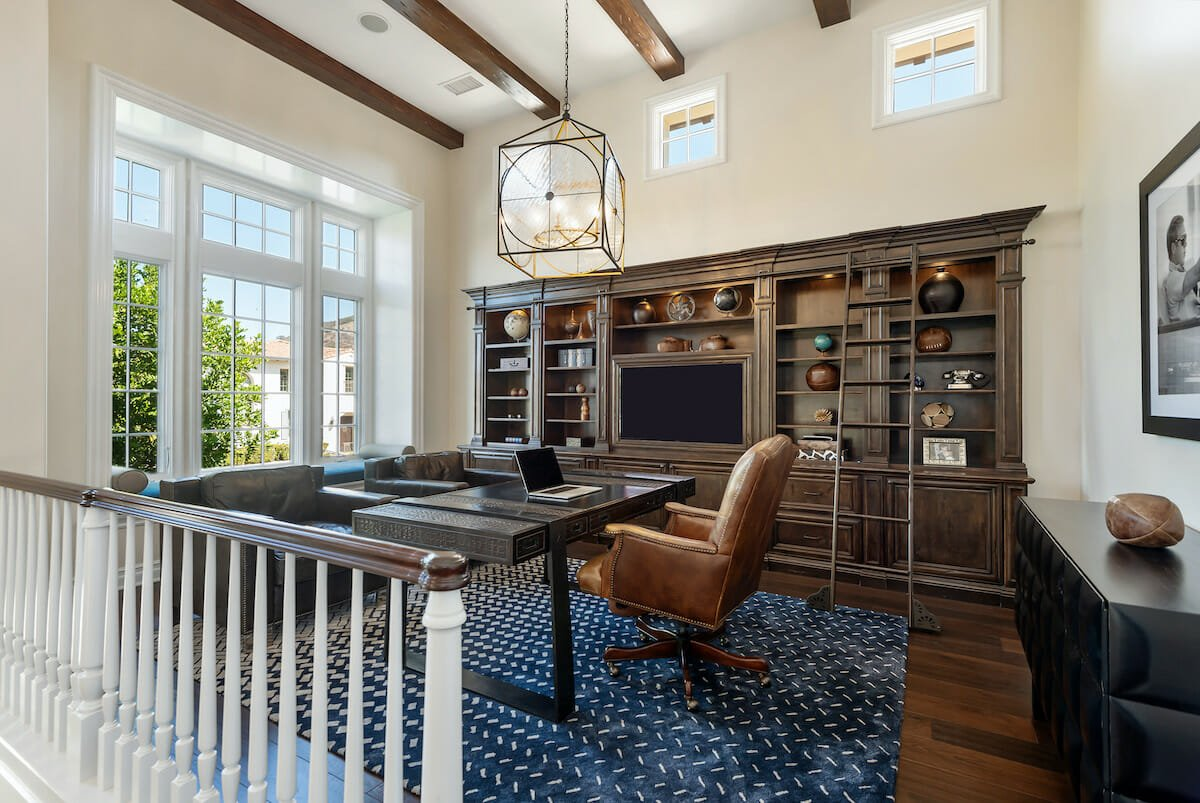 traditional home office by interior design firms indianapolis decorilla