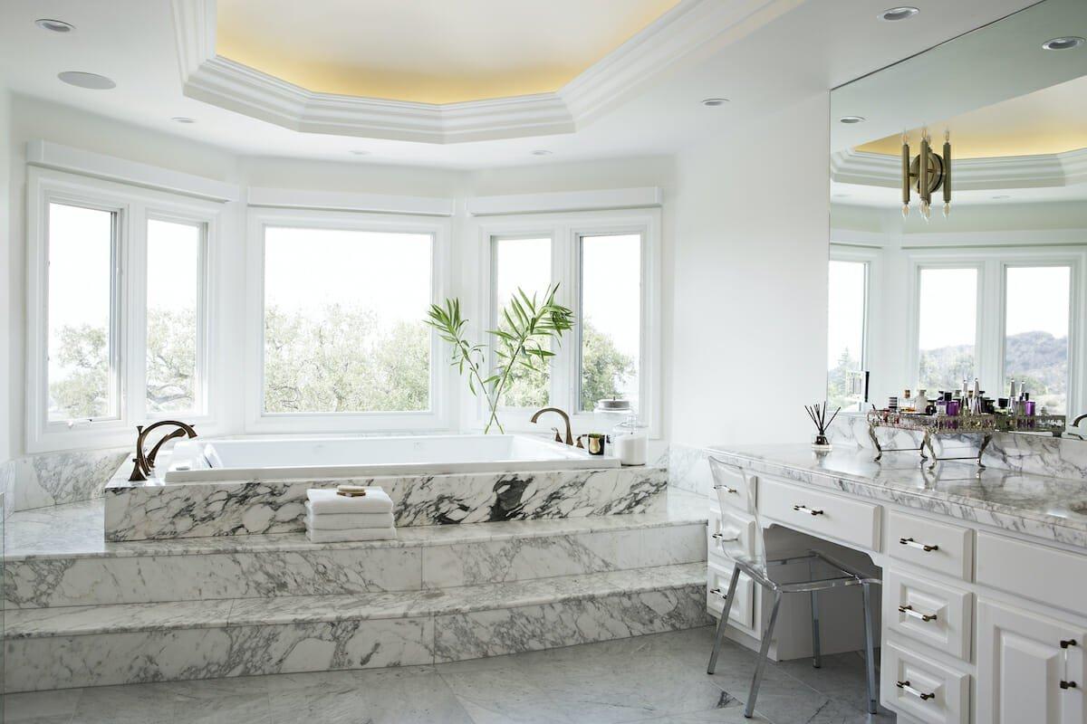 Bathroom color trends and classics 2022