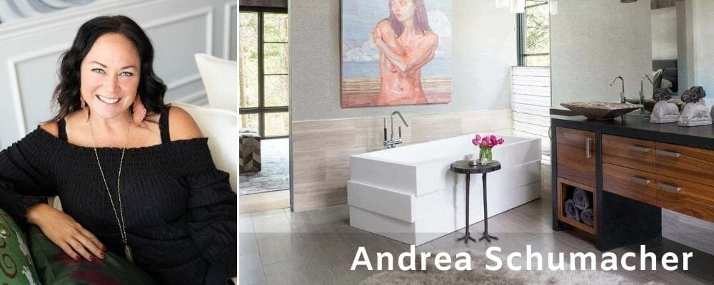 Bathroom interior designers - Andrea Schumacher