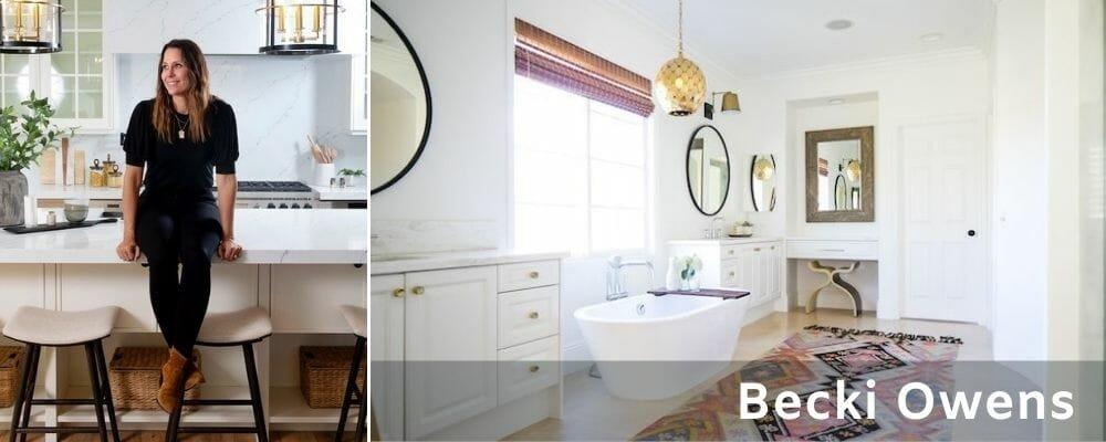 Bathroom interior designers - Becki Owens