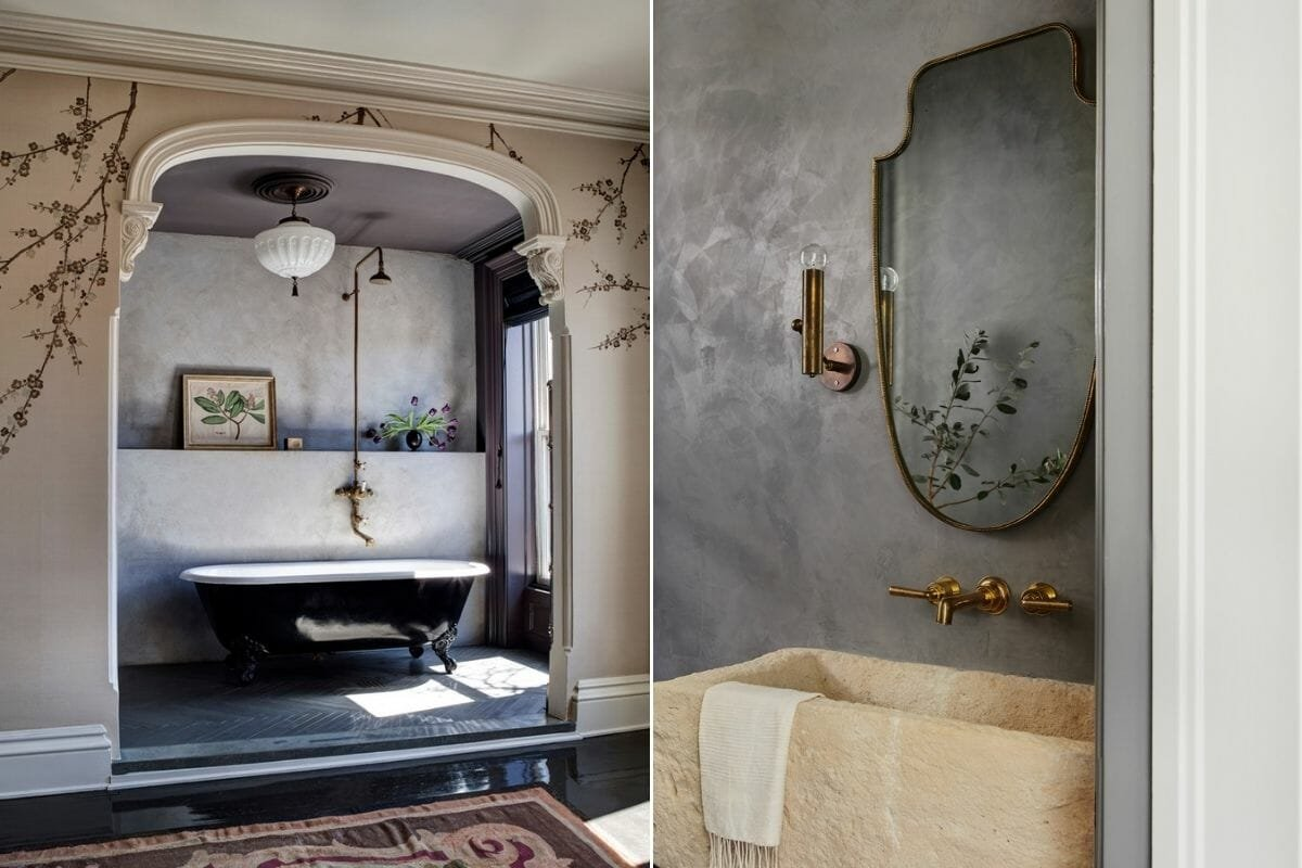 Bathroom tile trends 2022 - AI